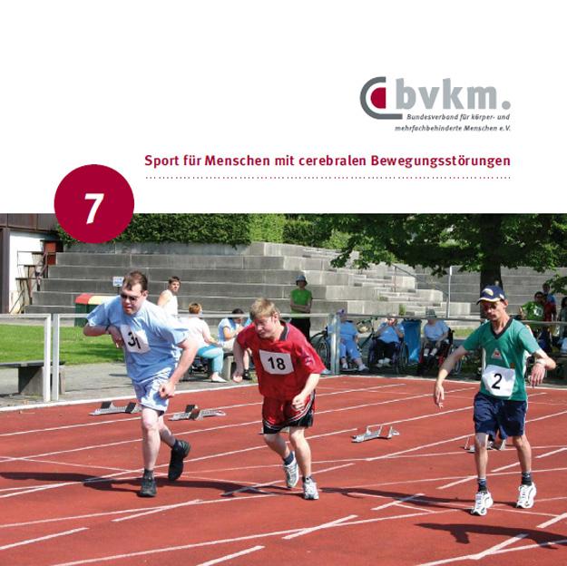Titelbild Sport für Menschen mit cerebralen Bewegungsstörungen