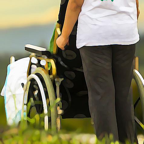 Titelbild Pflege bei Menschen mit schweren und mehrfachen Behinderungen